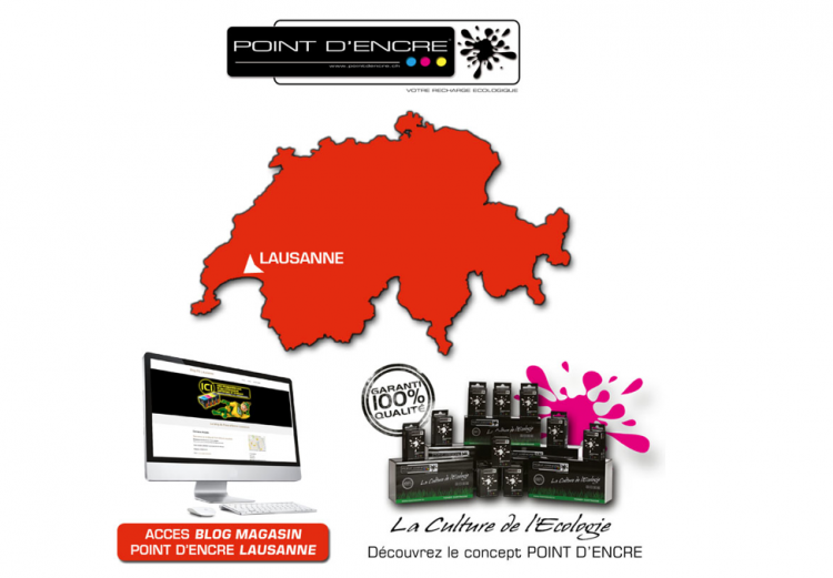 Point d'Encre Lausanne