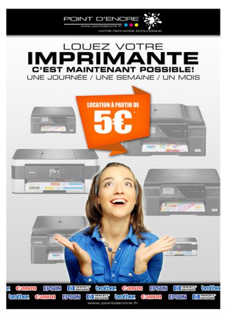 louer votre imprimante POINT D'ENCRE