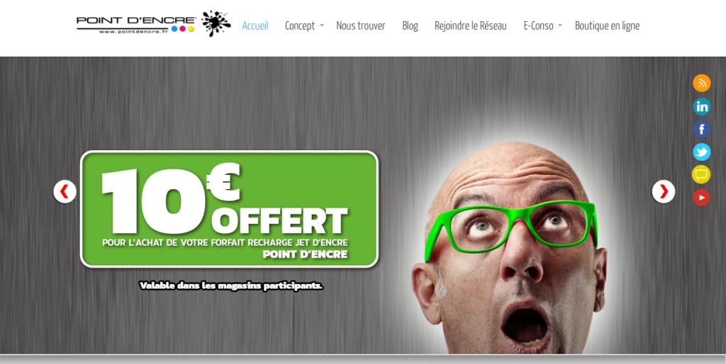 point d4encre 10€ offert
