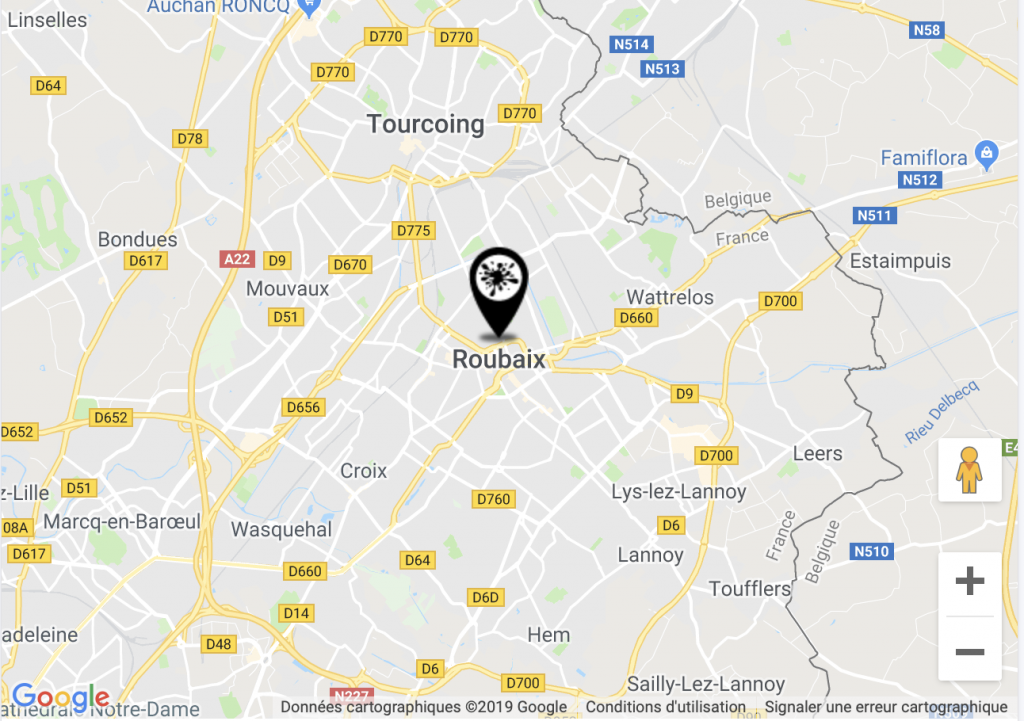 ROUBAIX 2 PLAN POINT D'ENCRE 59100