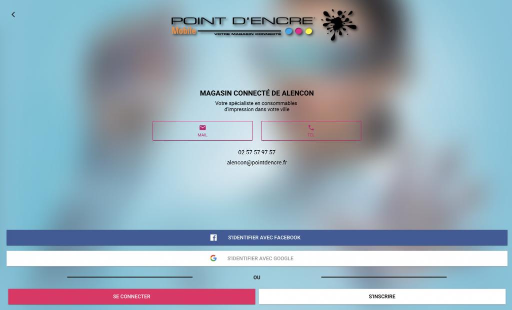 POINT D'ENCRE ALENCON 6100 FICHE