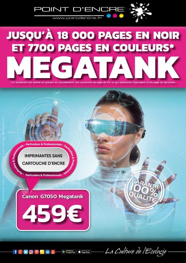 Canon G7050 Megatank