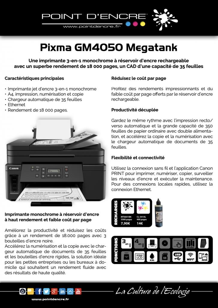 MT GM 4050 POINT D'ENCRE